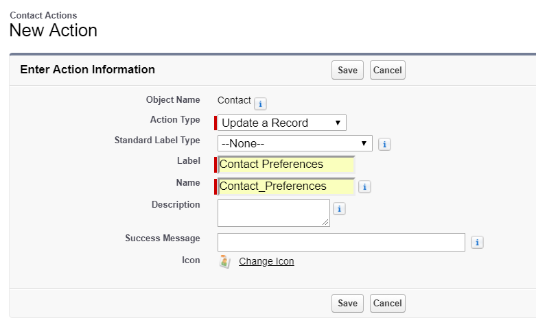 Contact Preferences 2