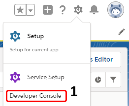 Where is Dev Console.
