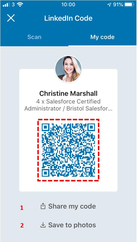 LinkedIn QR Code 3